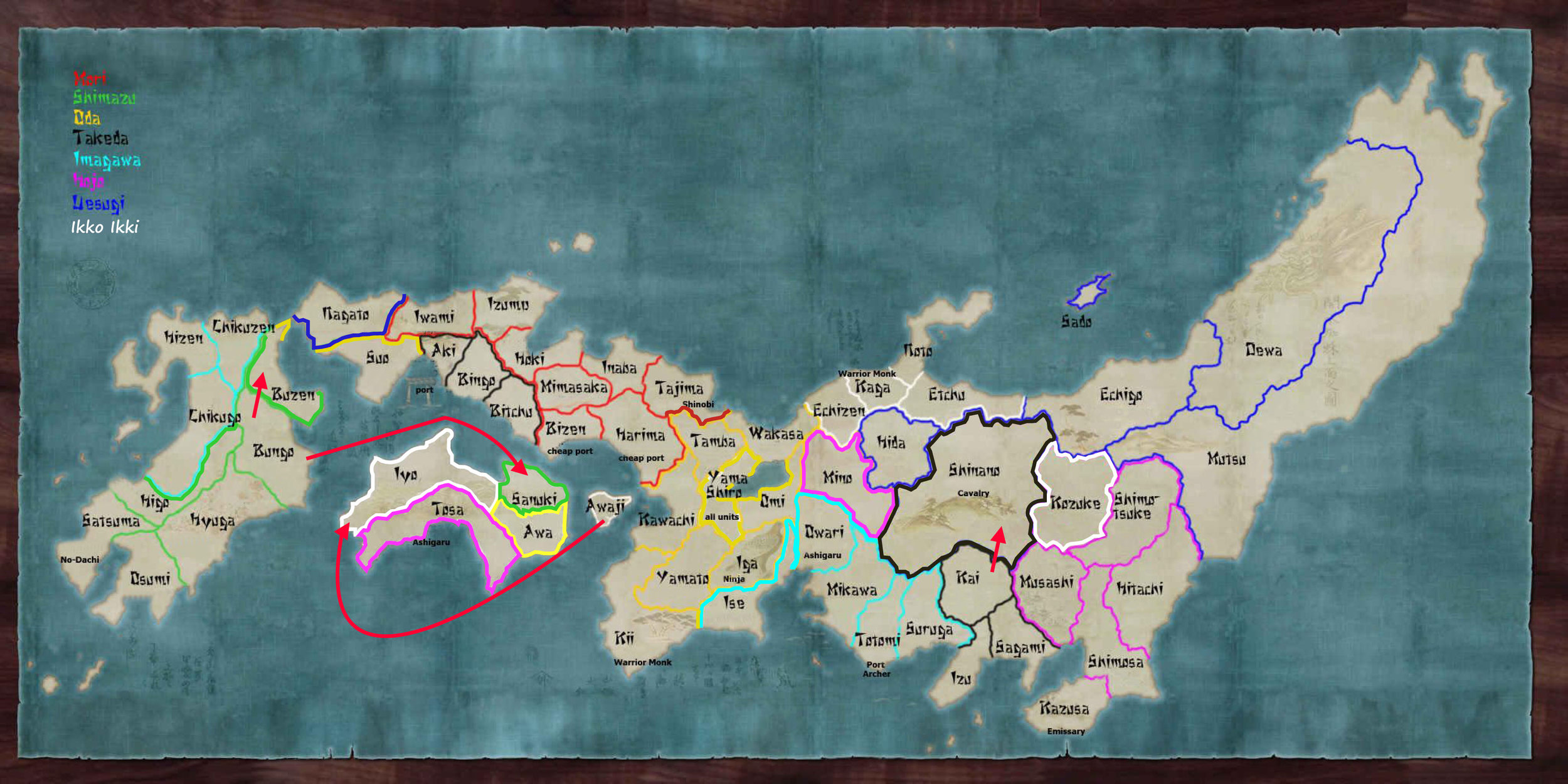 Map wednesday 14th march