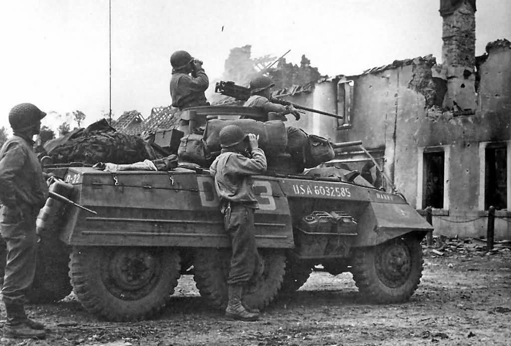 US m8 greyhound armoured car