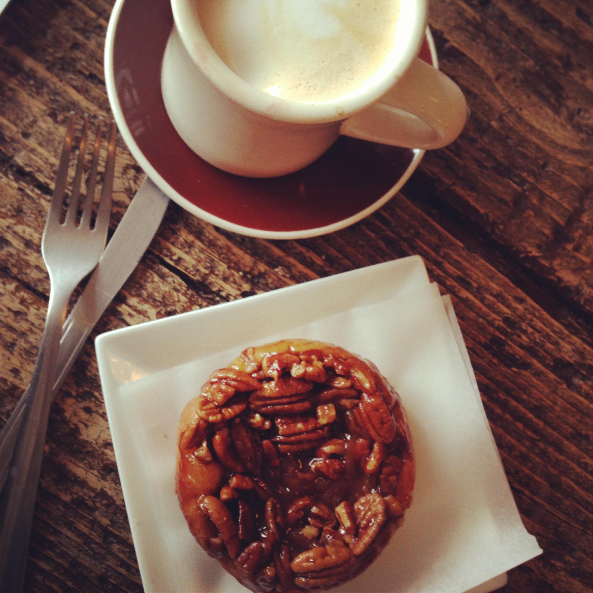 Coffee & Sticky Bun