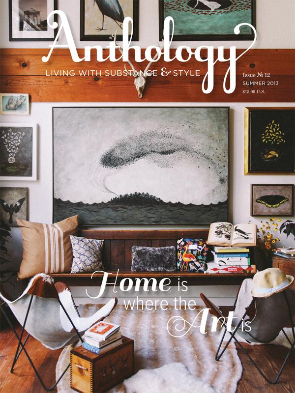Anthology Magazine - Back Issues - $12/ea