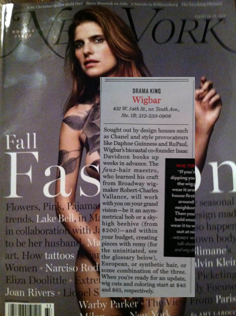Wigbar featured in NY magazine