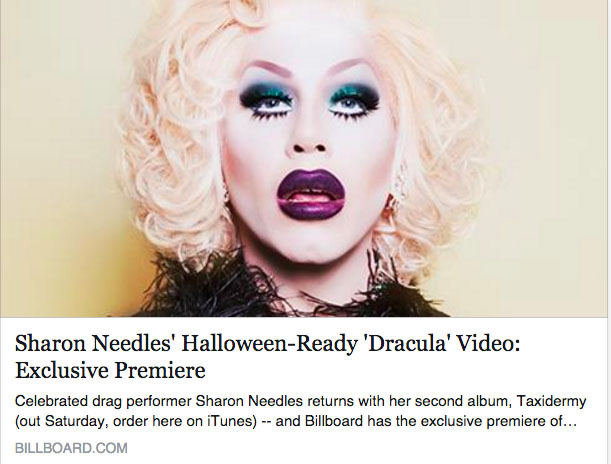 sharon-needles-dracula-video-premiere