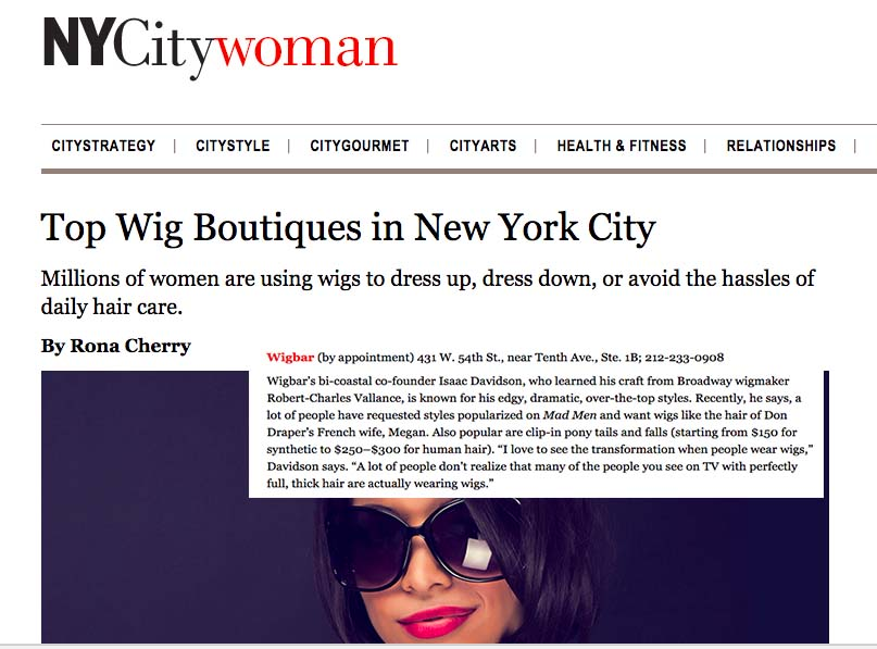 WIgs nyc