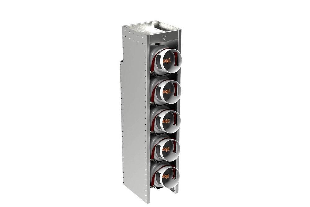 Vertical gaz bottle's module