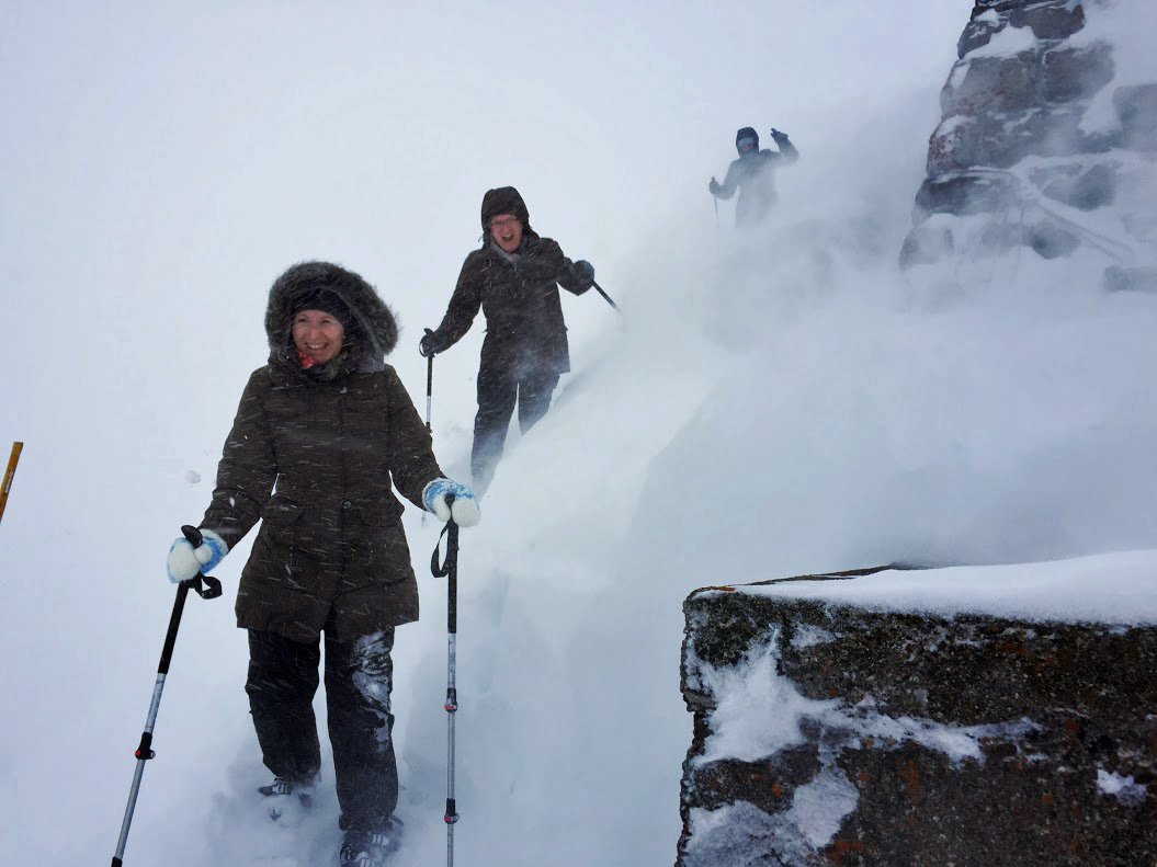 Ein sagenhafter Schneesturm