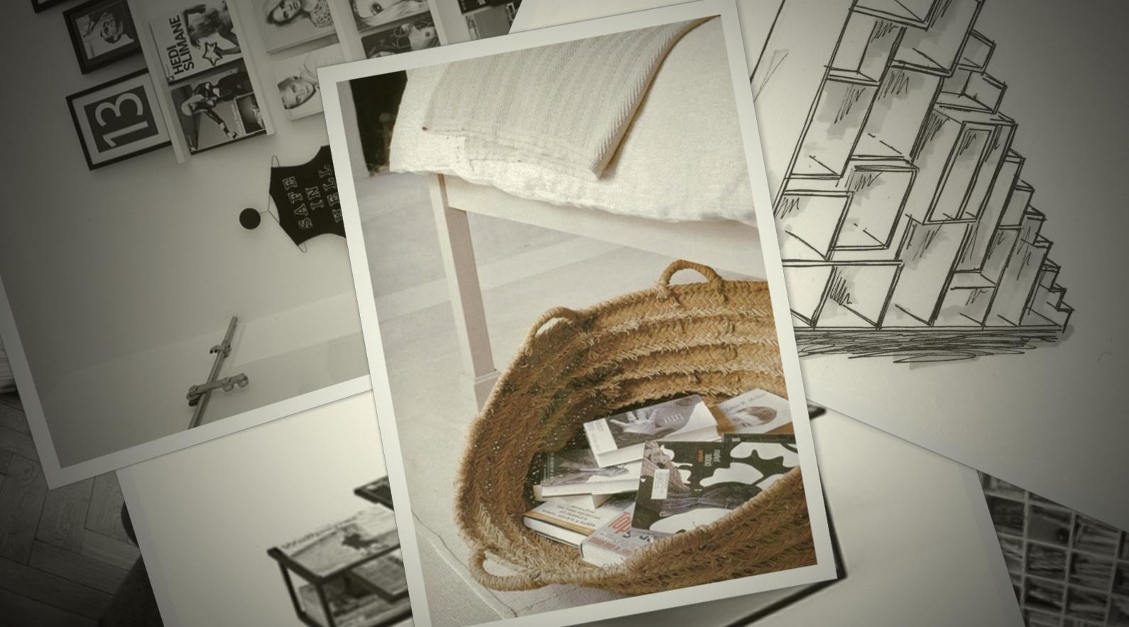 Gebrauchsgegenstände werden als stimmungsvolle Accessoires eingesetzt.