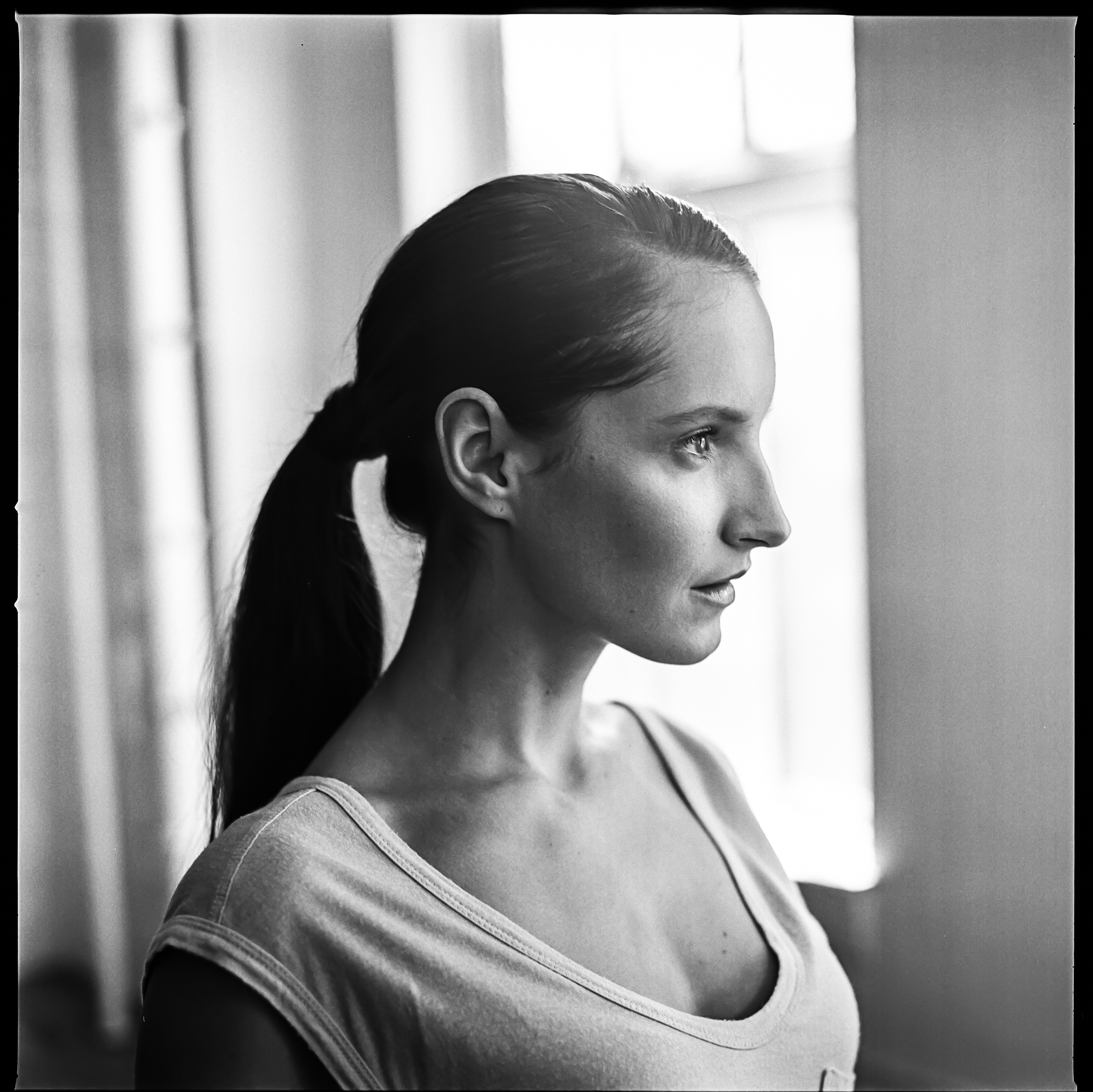Model - Au Naturale Cosmetics NYC 2014 - Hasselblad 500c Tri-X 400