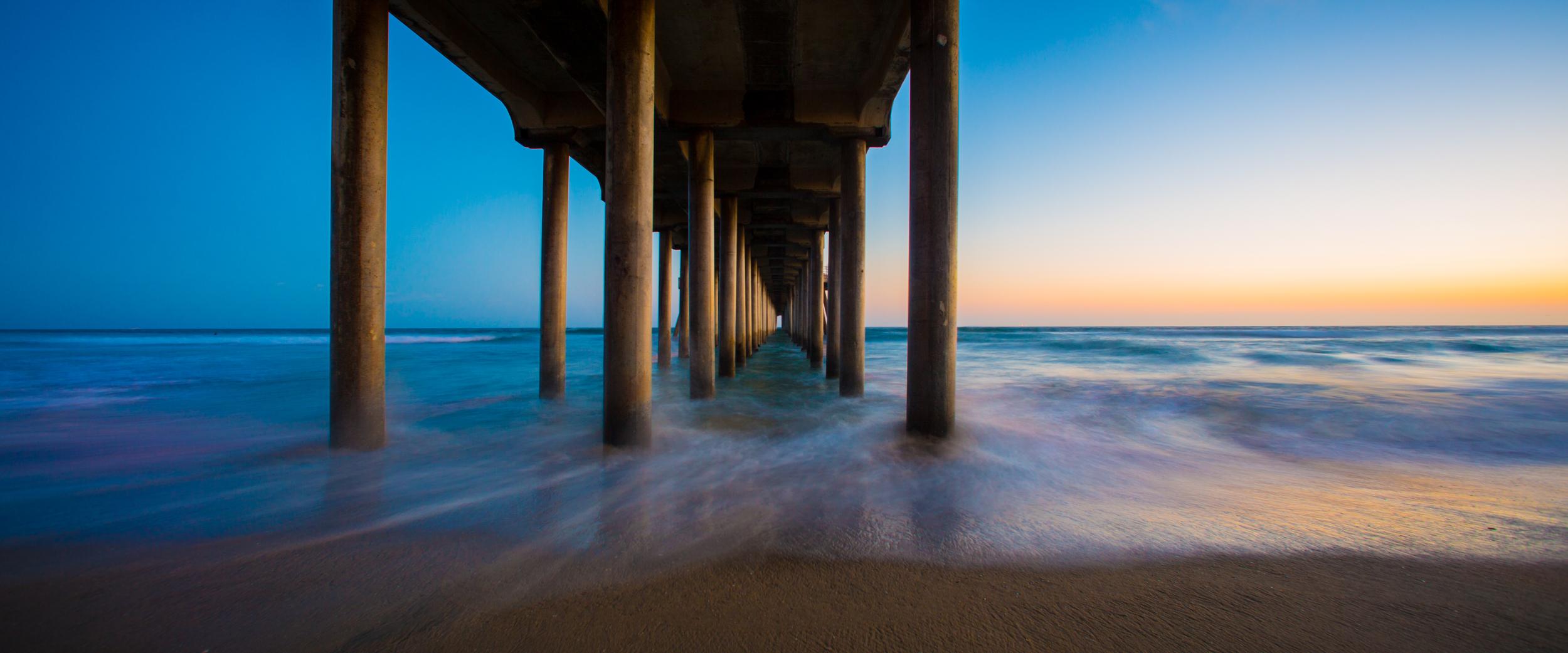Pier - Huntington Beach, CA 2014 - 5DIII