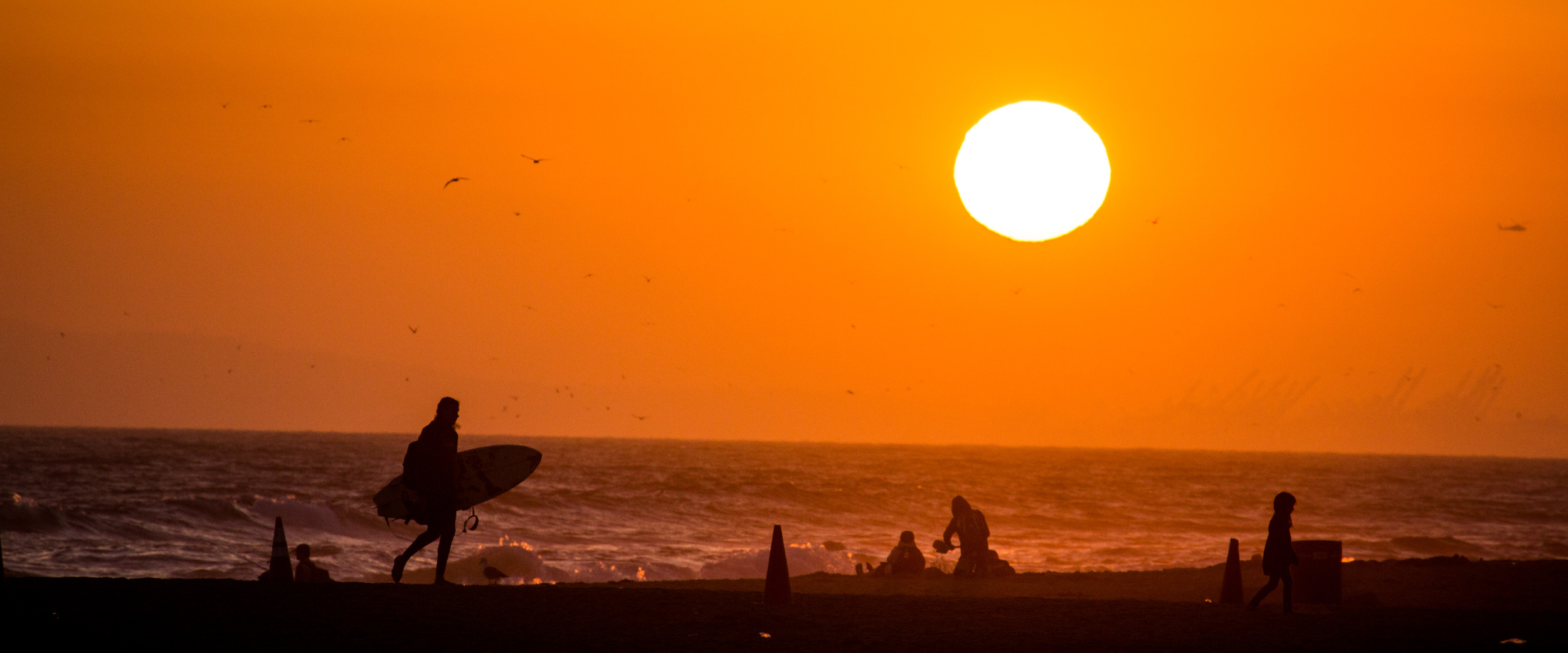 Surfer dude - Huntington Beach, CA 2014 - 5DIII