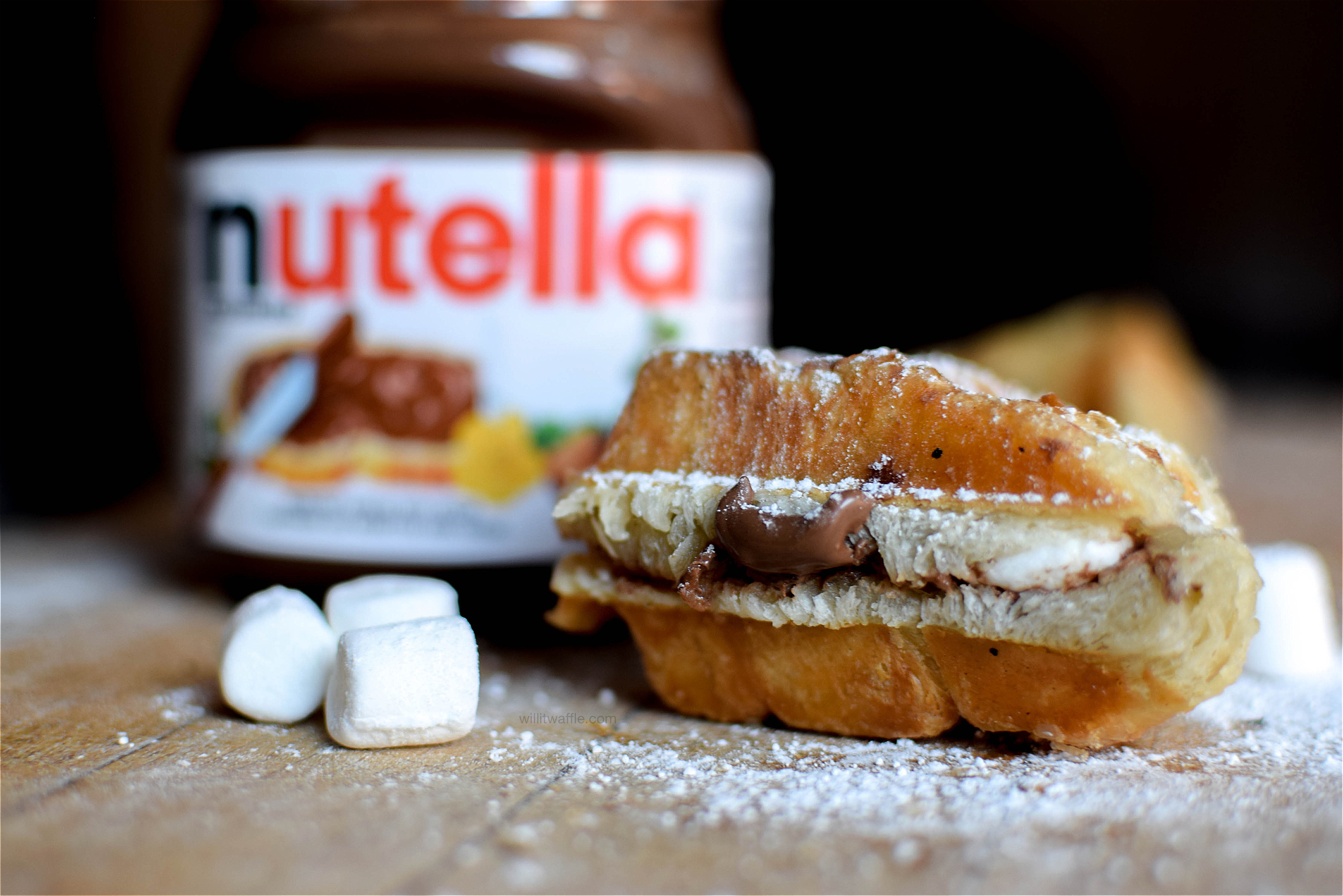 Puff Pastry S'moreffles