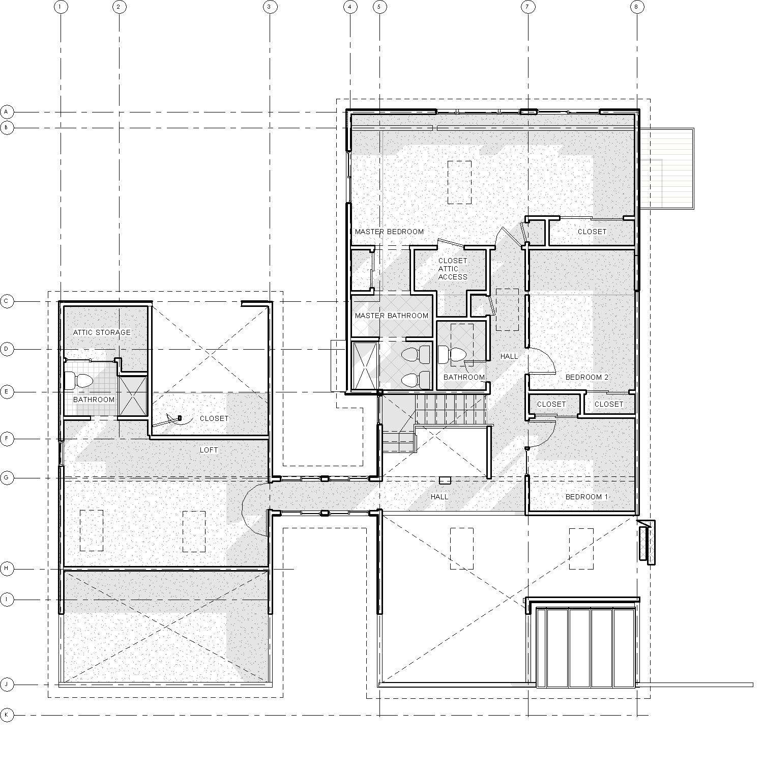 2014-03 914 Coachway_Central_09-EXISTING - Floor Plan - 2nd Floor Existing.jpg