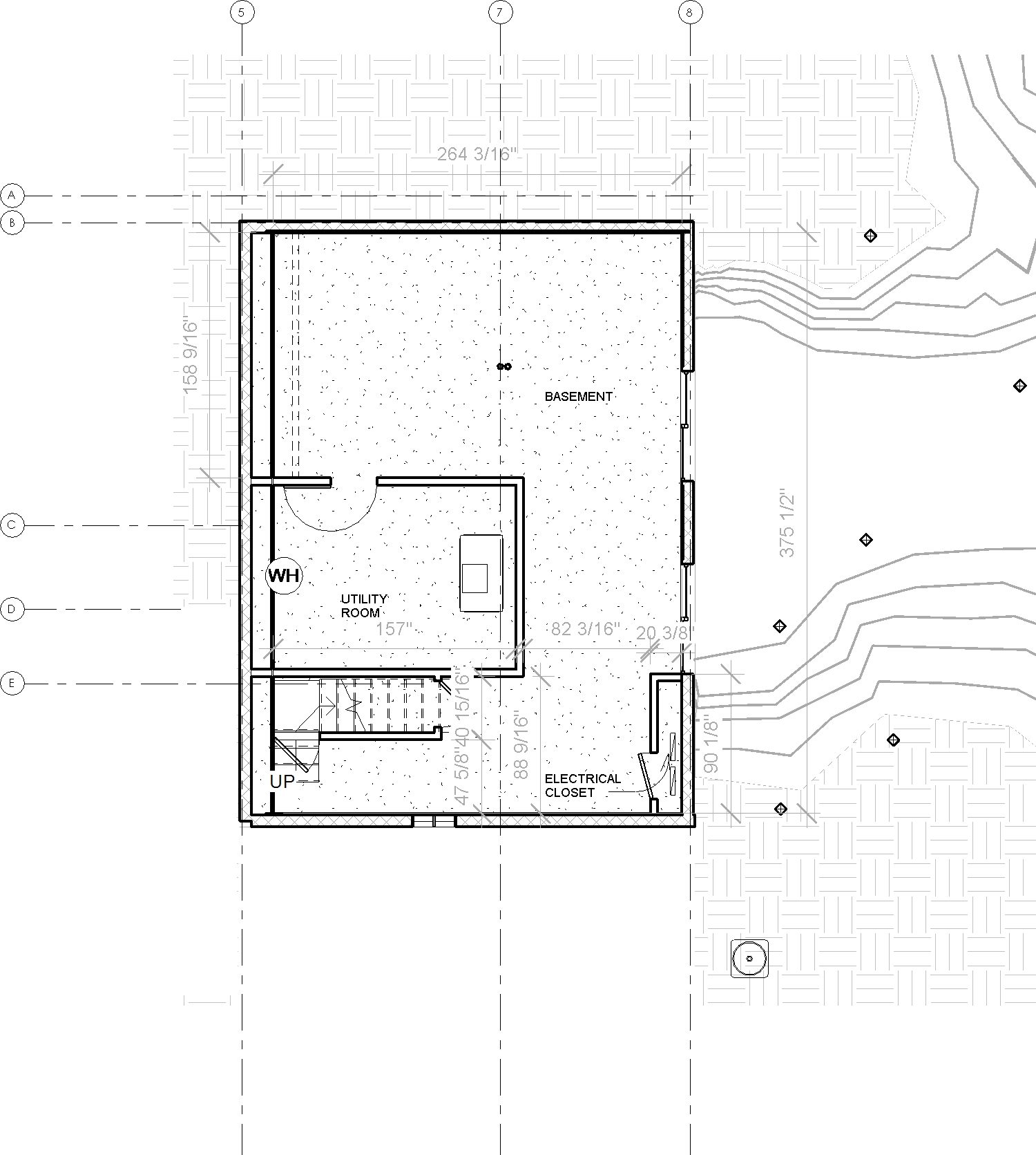 2014-03 914 Coachway_Central_09-EXISTING - Floor Plan - Basement Existing.jpg
