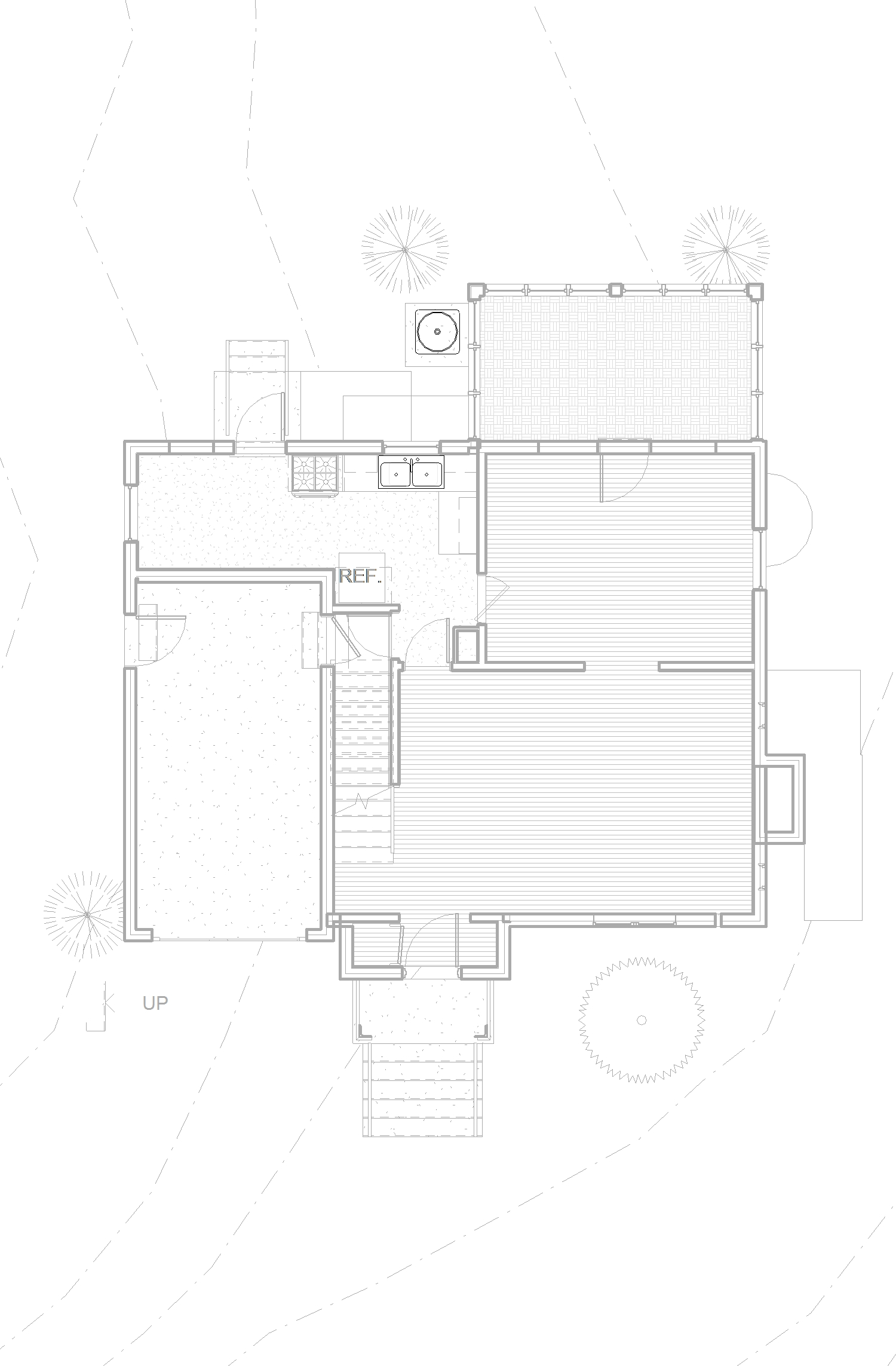 2014-04 4015 Veazey St NW_CENTRAL_09 - Floor Plan - 1ST FLOOR - EXISTING.jpg