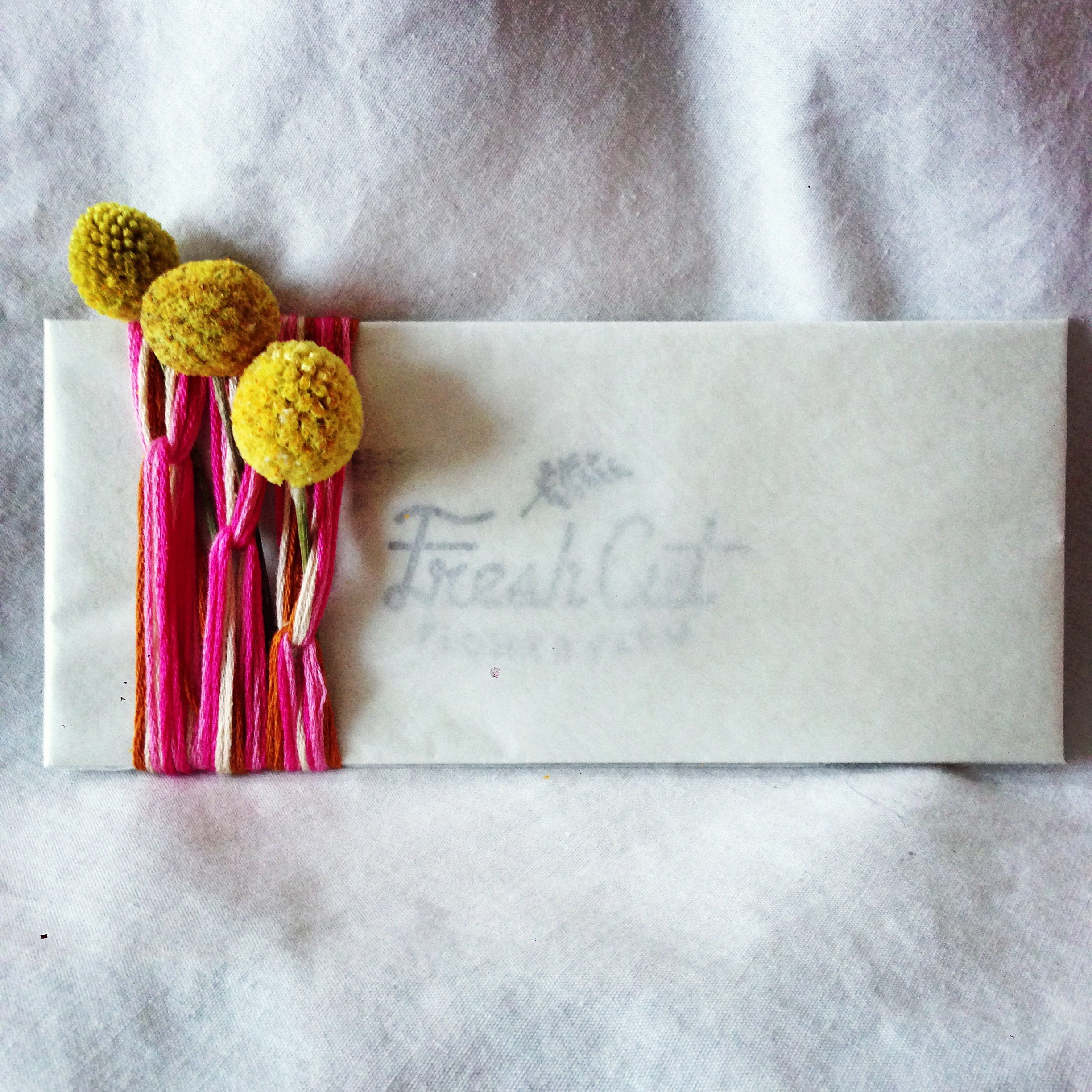 Weekly Bouquet Service gift packaging
