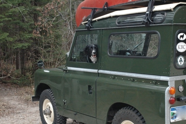 Edward the Black Prince, a rescued 1964 SIIA Rover.