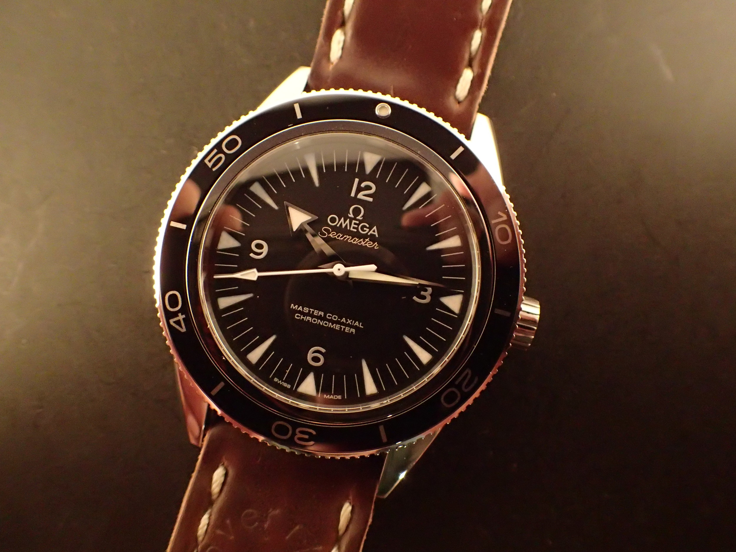 The Omega Seamaster 300 MCA.
