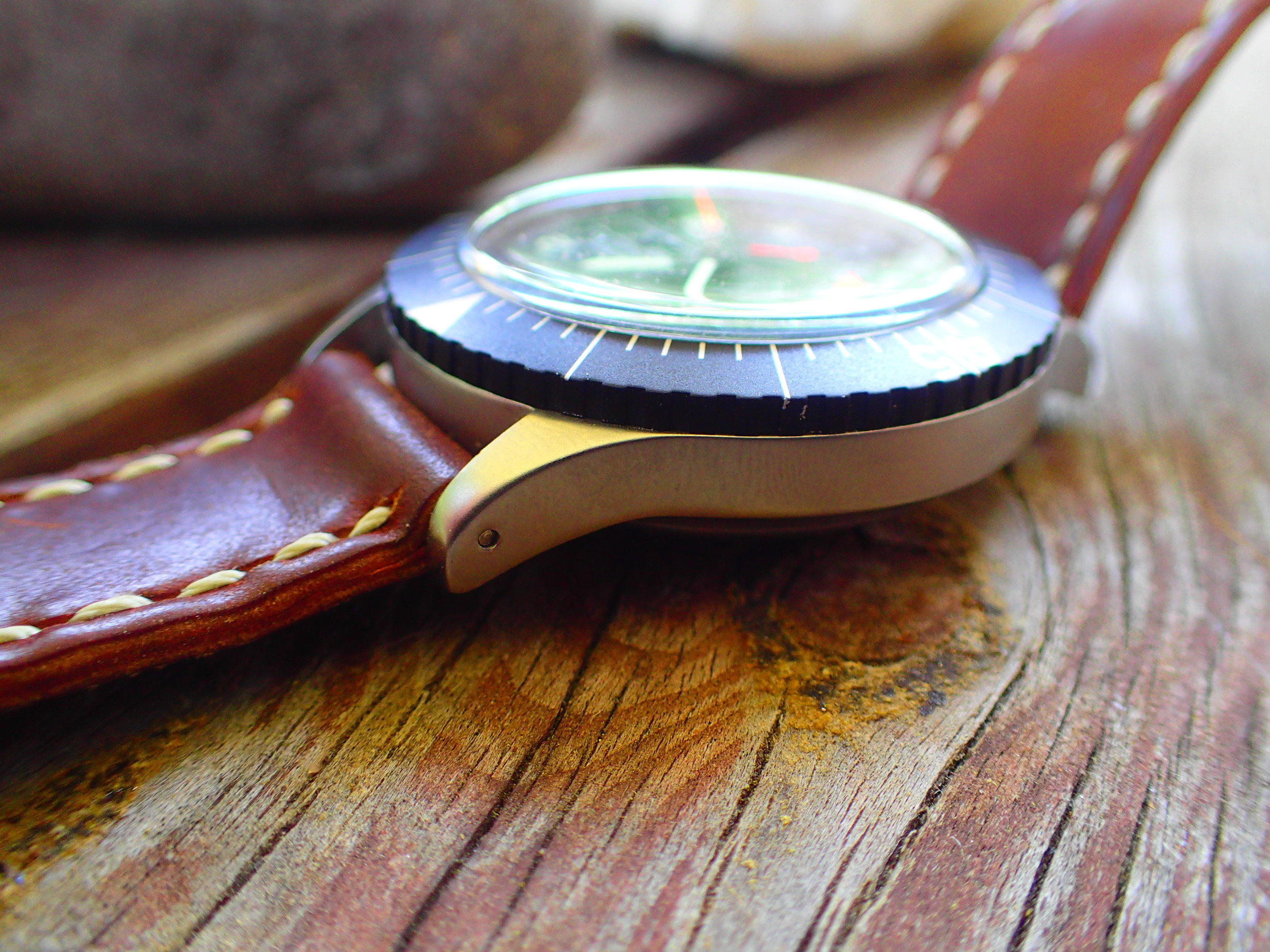 Viewed from any angle, this watch is design perfection.