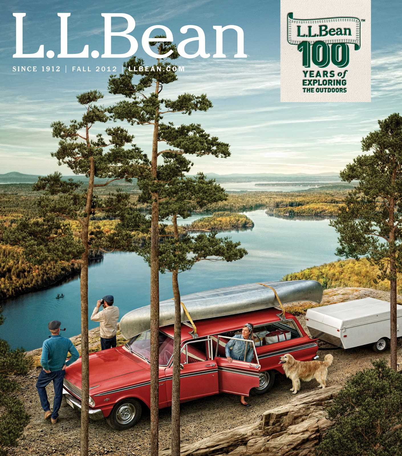 The Spring 1966 LL Bean catalog reproduced in 2012 for Bean's 100th anniversary catalog.