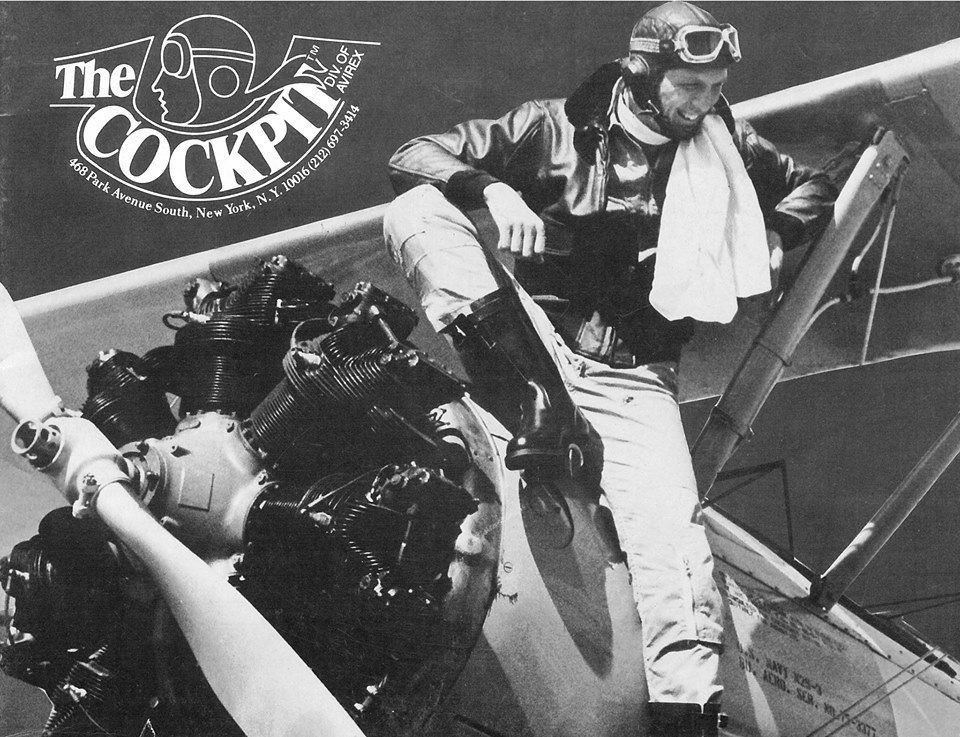 The first issue of  The Cockpit . Image compliments of Cockpit USA.