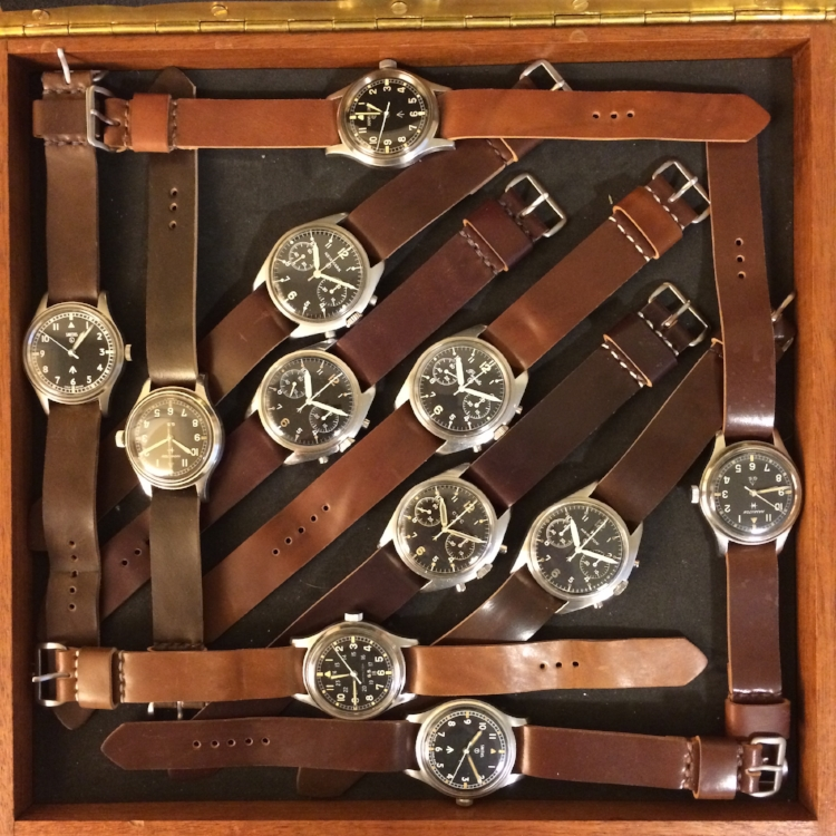 What a lovely hoard of British military-issued watches!