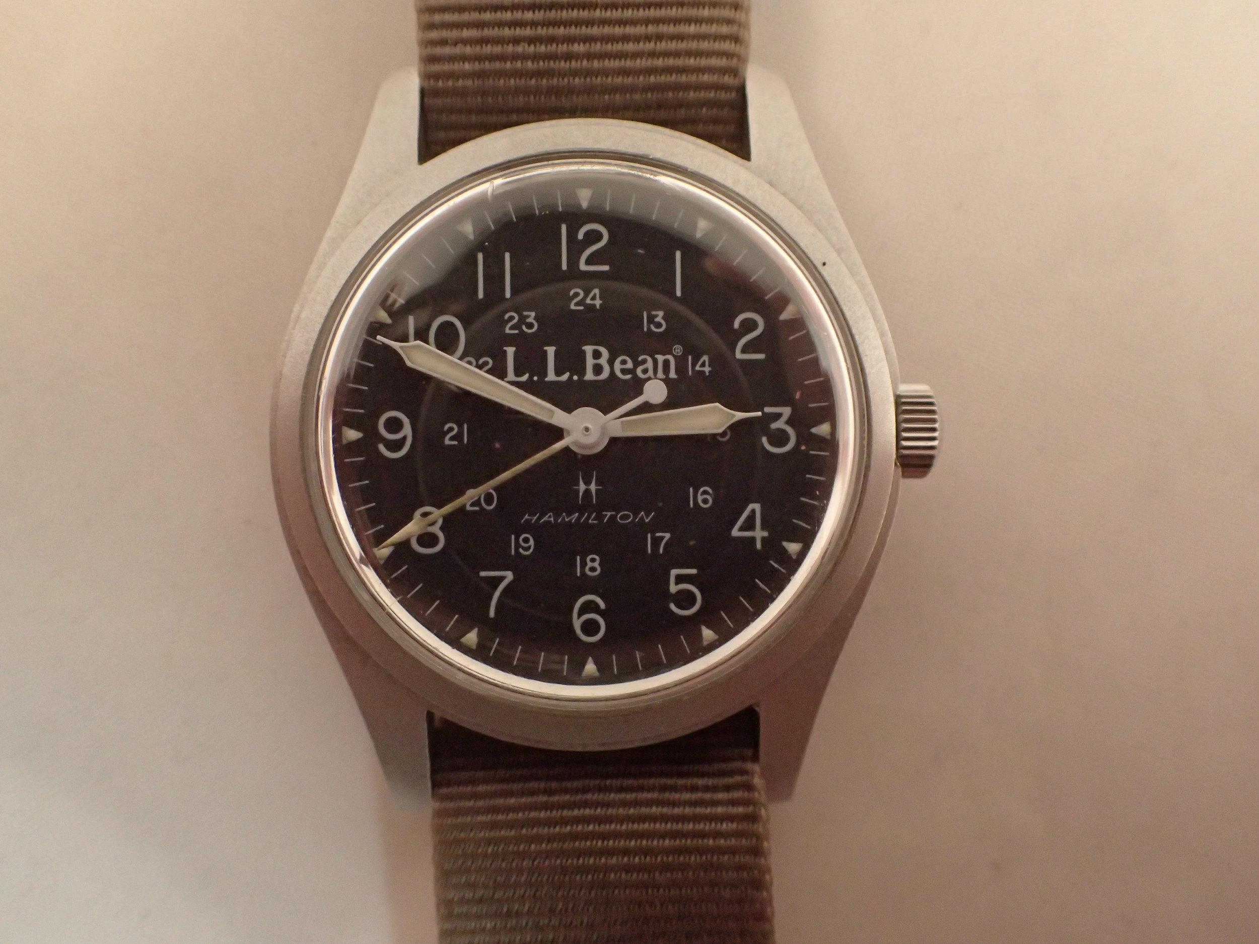 The Hamilton 9219 LL Bean Field Watch.