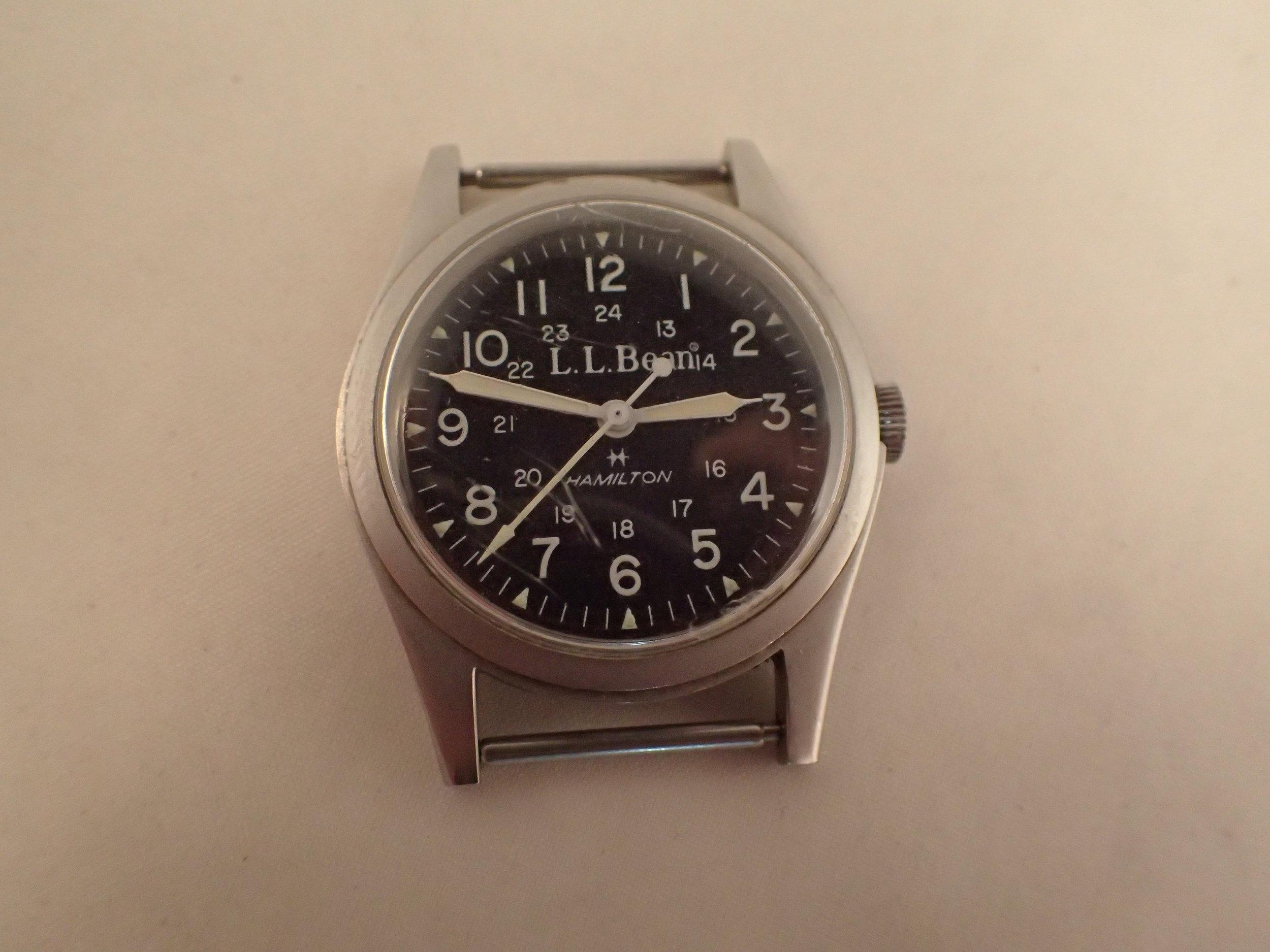 The Hamilton 9415 LL Bean Field Watch.