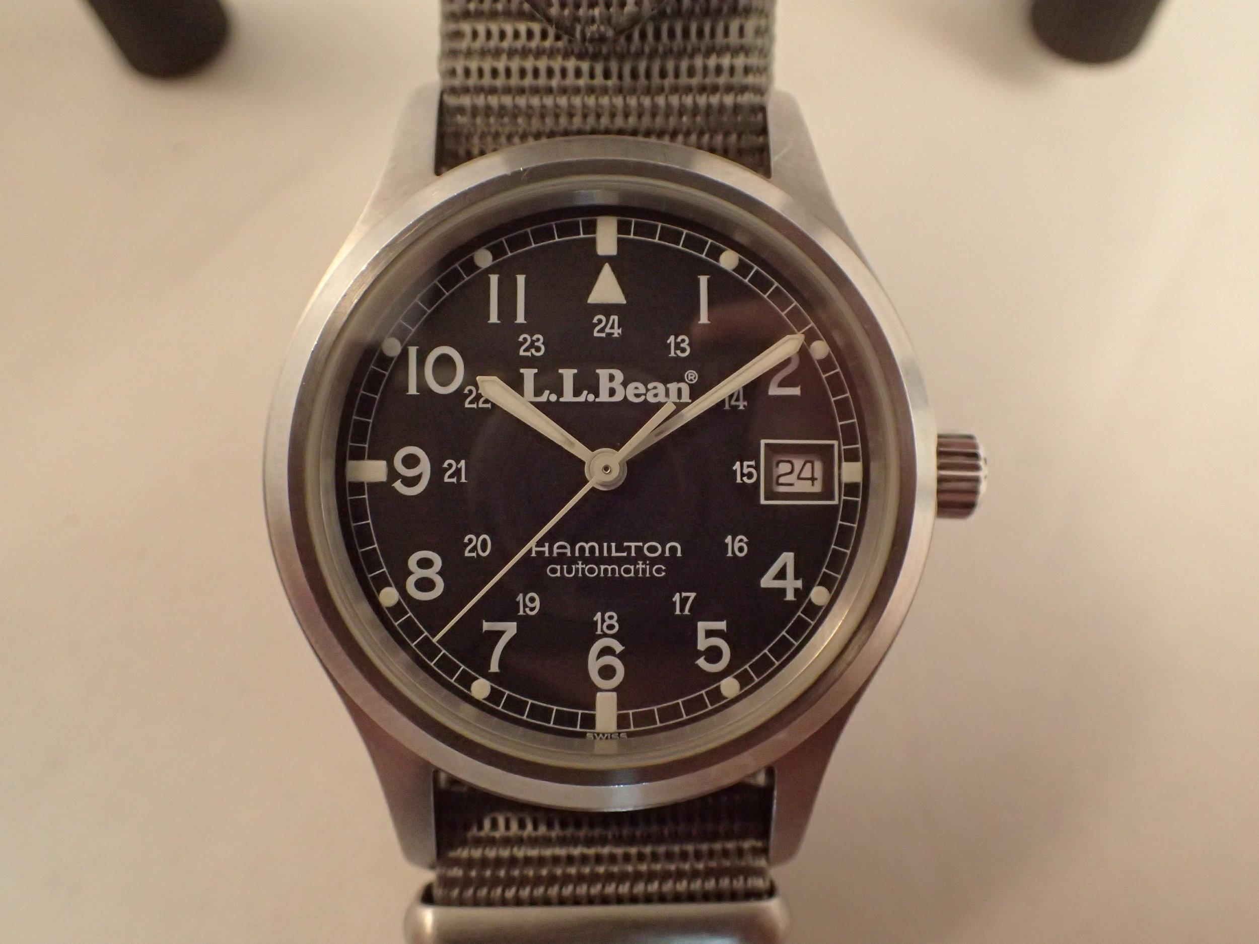 The Hamilton 9721 LL Bean RAF Automatic.