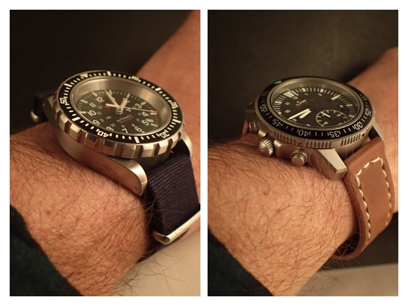 The Marathon GSAR wears very similarly to the Sinn 613. These two tool watches have a place in any collection.