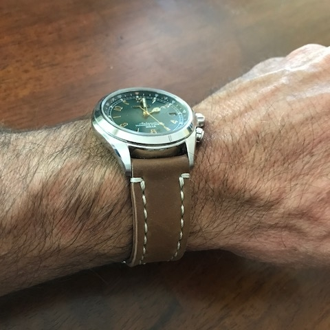 A very special Seiko Alpinist on Natural Arts & Crafts. These watches are just fantastic.
