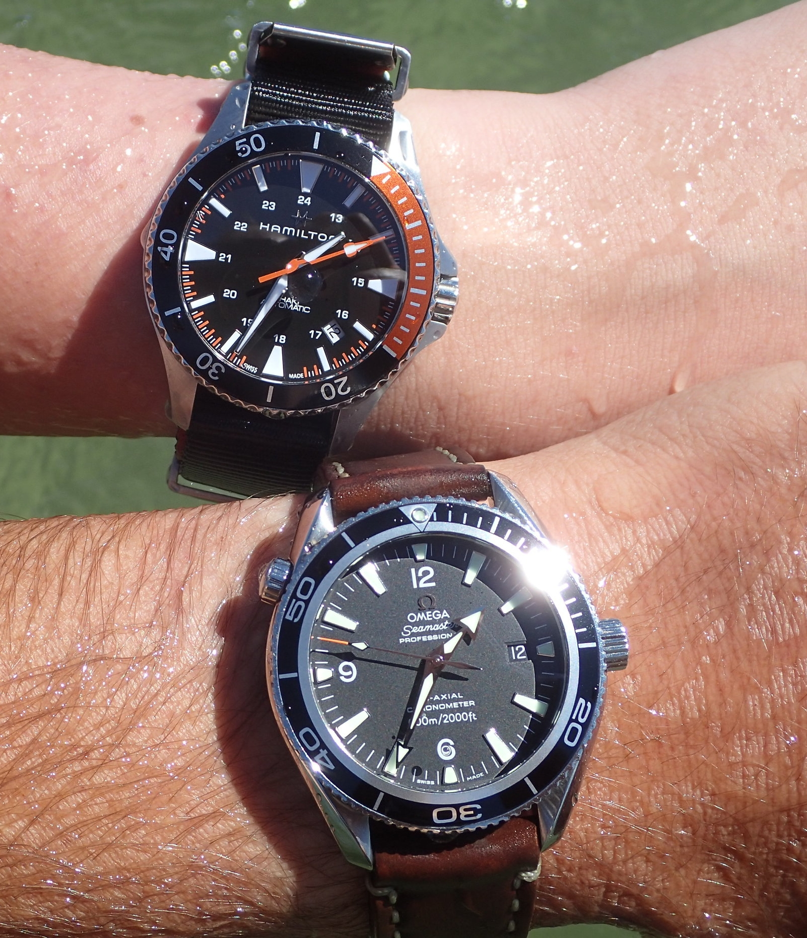 A pair of equally competent tools for a One Watch Life. Which would you pick?