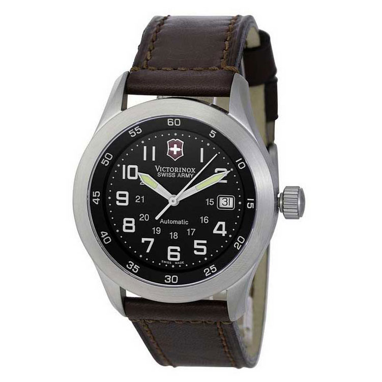 The Victorinox Swiss Army Airboss Mach 1 Automatic, ref 24091. The first mechanical AirBoss watch. Image courtesy of Andrew@WatchHunter.org.