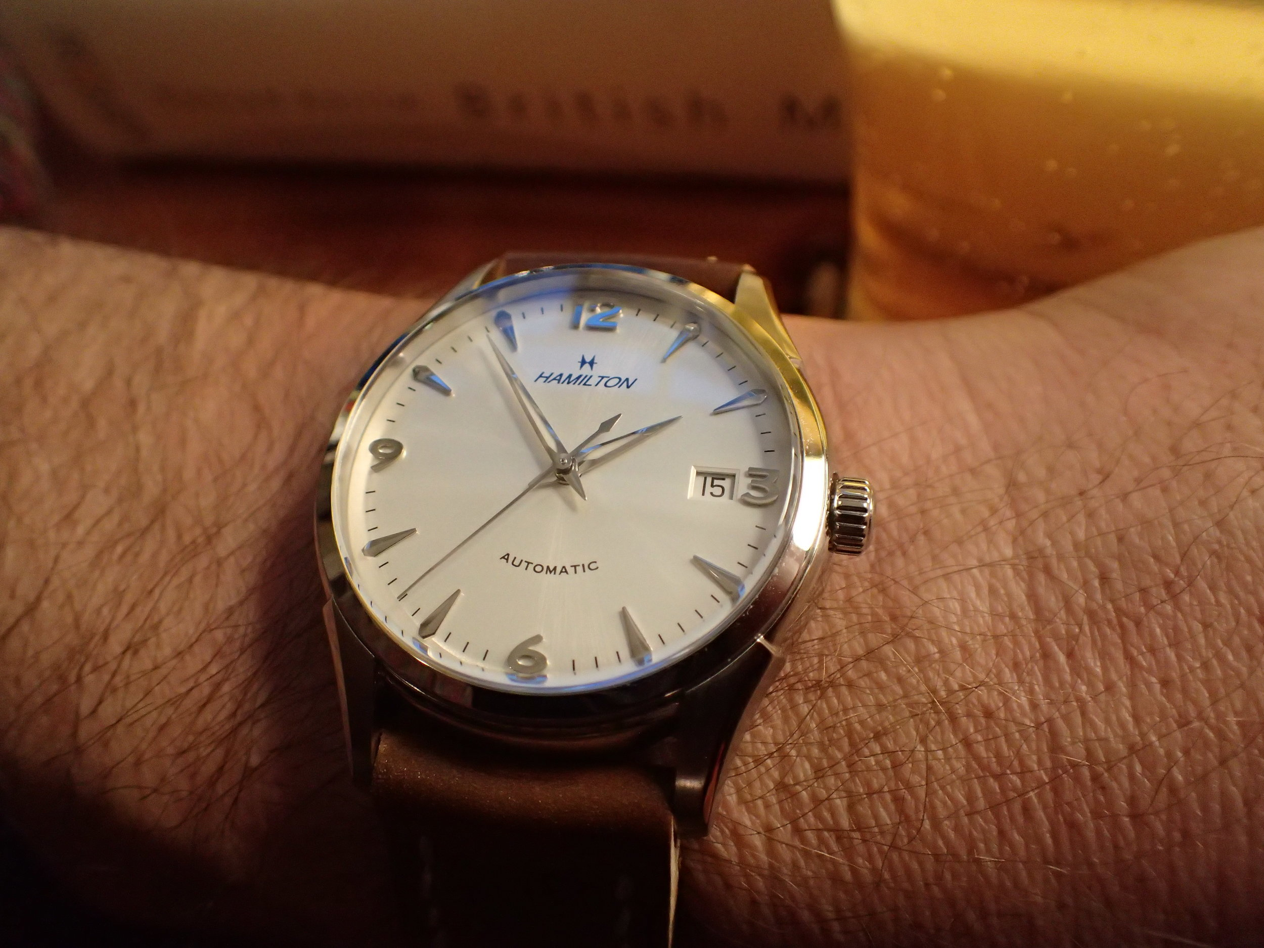 Wearing the Thin-O-Matic 38 feels like wearing your grandfather's watch. Except it fits you better. And it keeps better time.