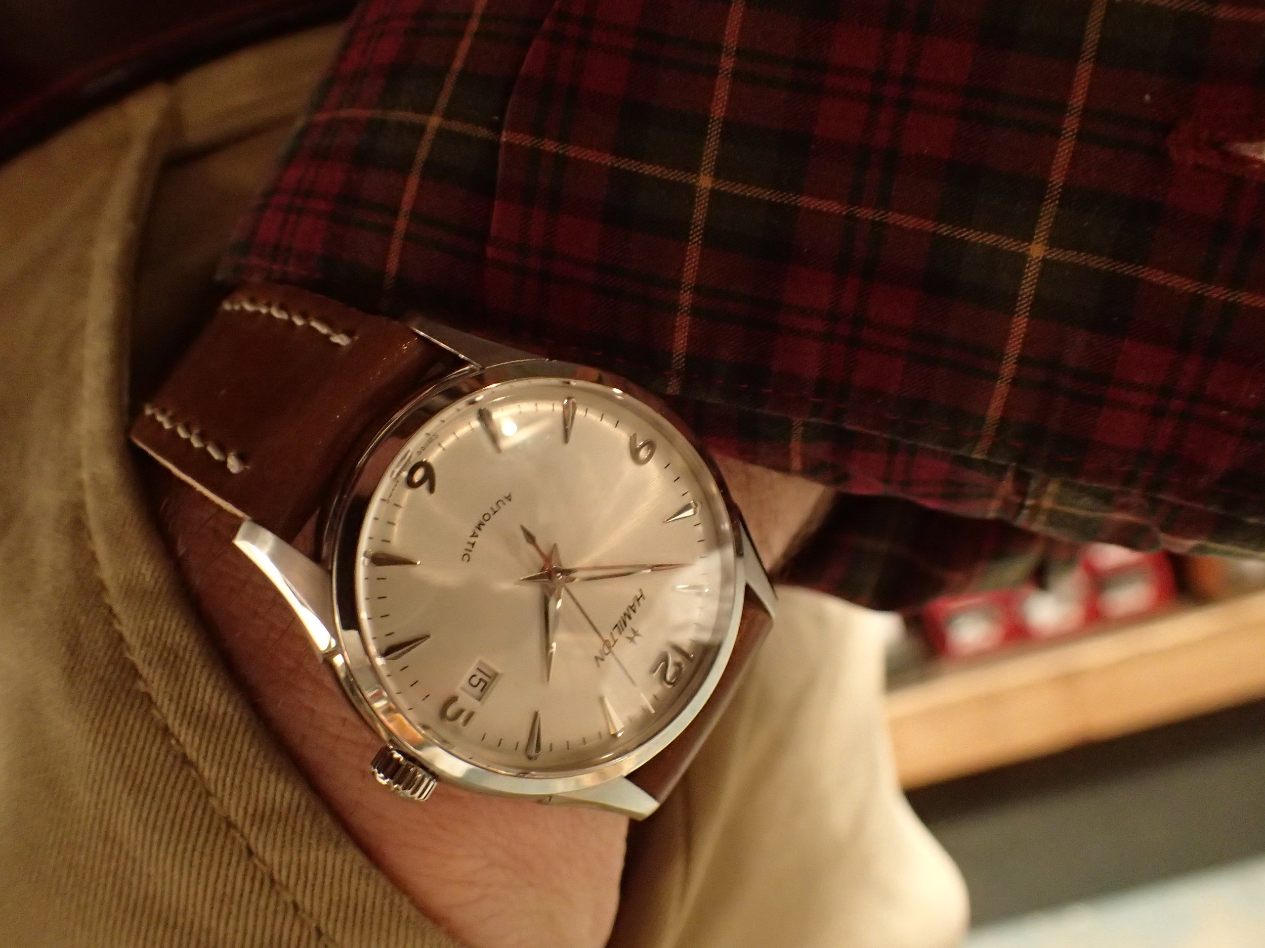 The Thin-O-Matic 38 mm, ref H384150.