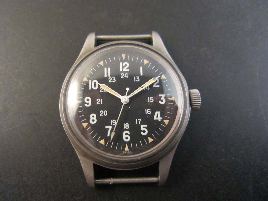 My old Hamilton FAPD-5101. Of all the vintage mil watches I've owned and sold, this one I regret losing track of the most.