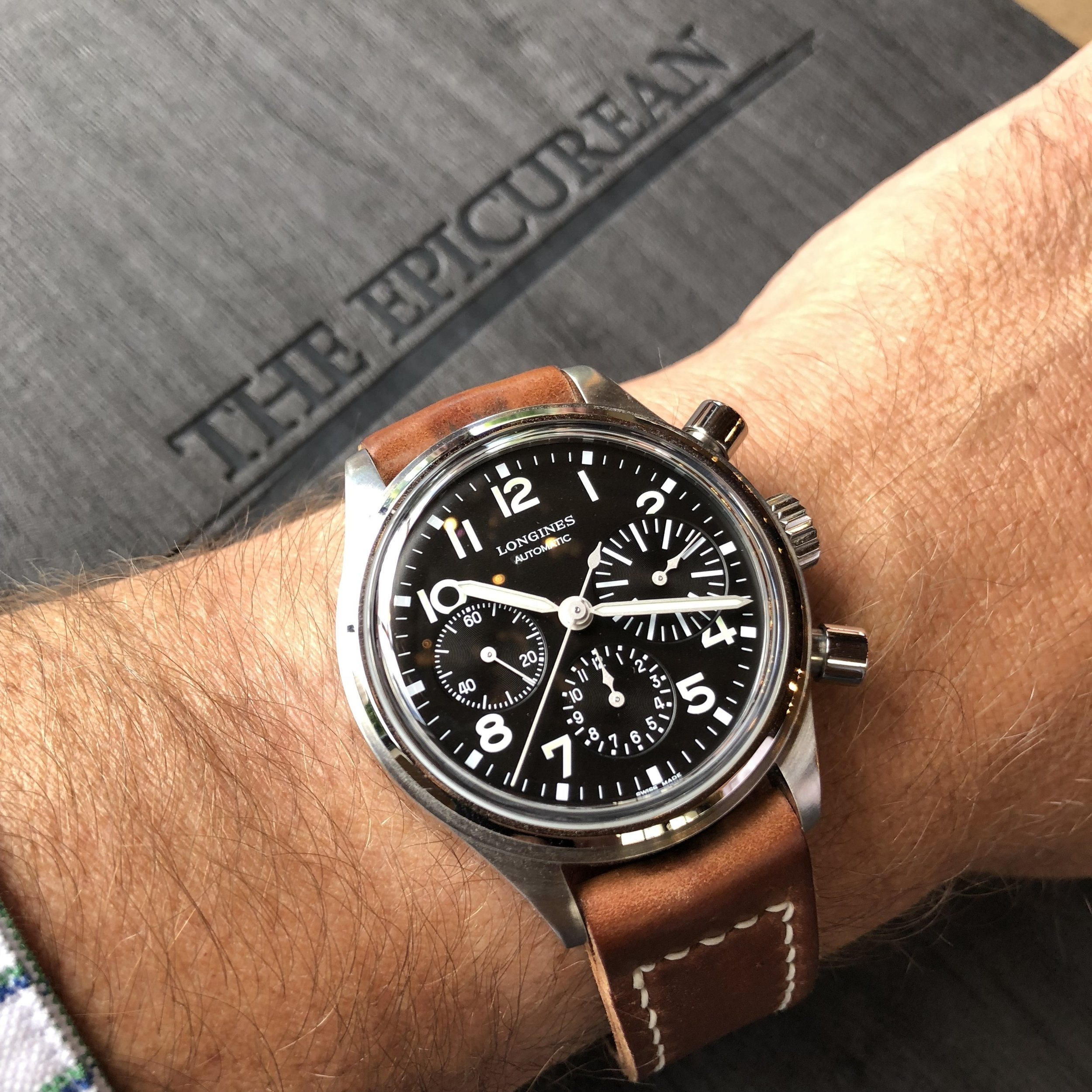 The Longines Avigation BigEye, reference L2.816.4.