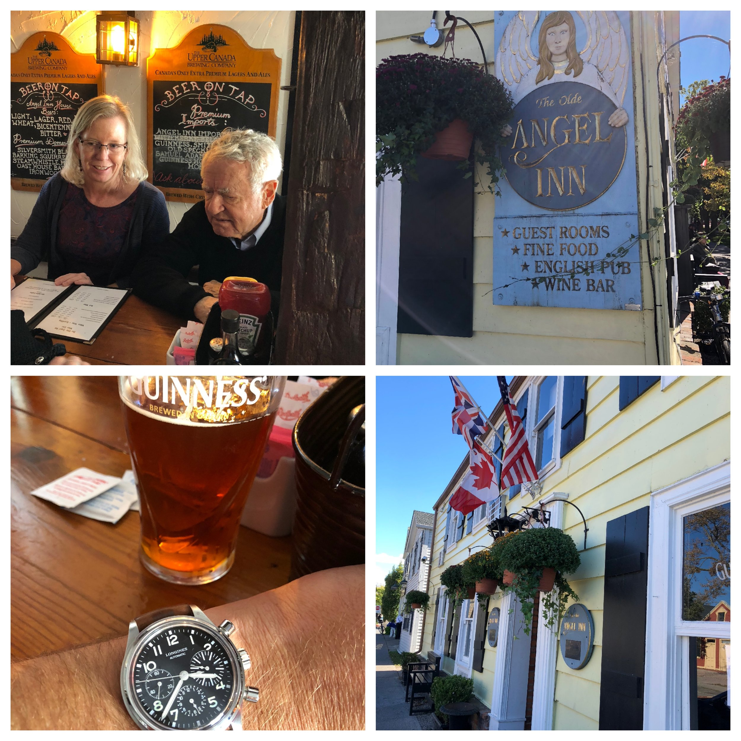 Pints at the Angel Inn are a not-to-be-missed stop when visiting NOTL.