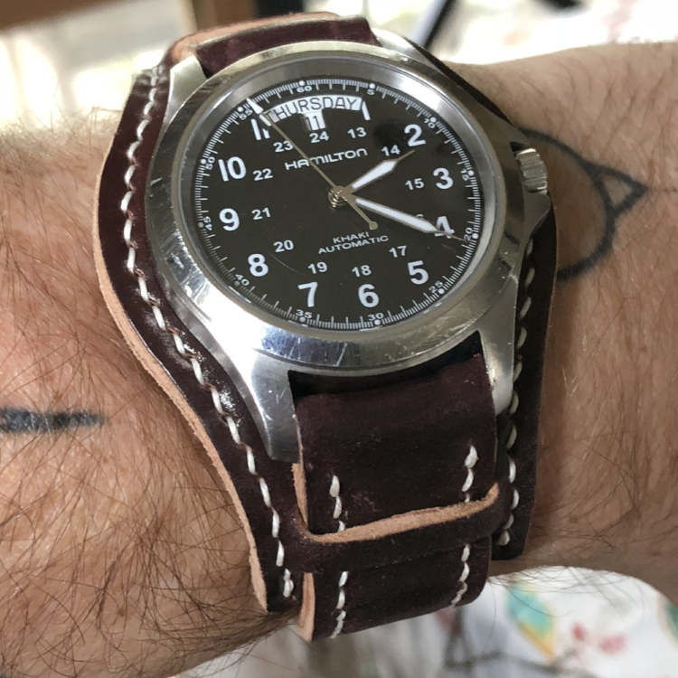 Hamilton Khaki King on Arts & Crafts Bund. Trusty and true!