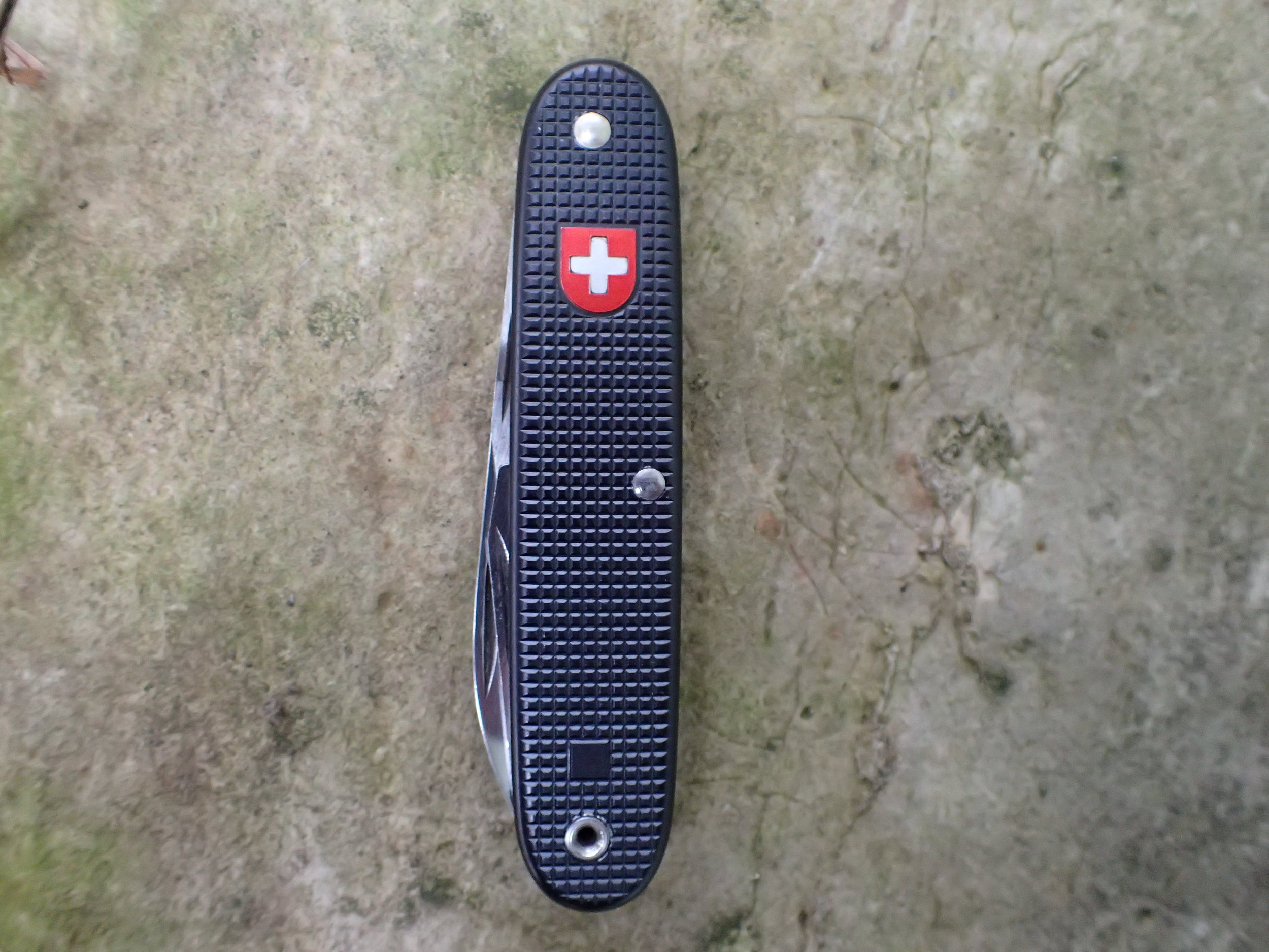 The Swiss Railway Soldier, also known as the Black Beauty, is a Grail SAK for many collectors.