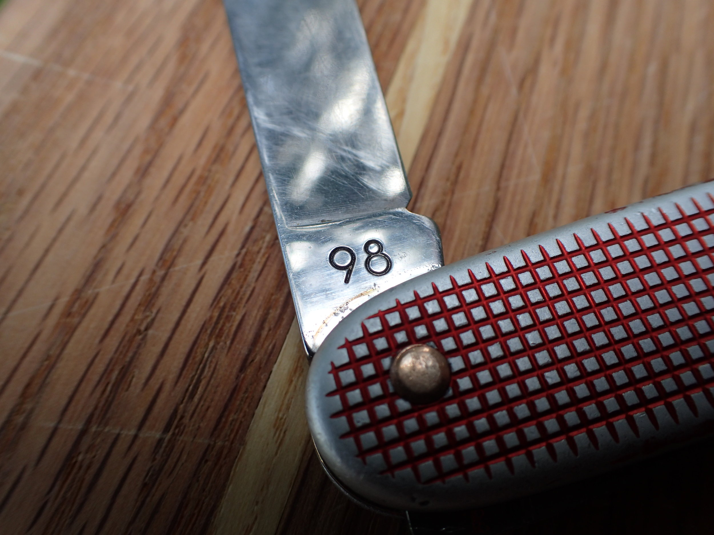 It's no problem dating this SAK; the Victorinox factory has done it for us.