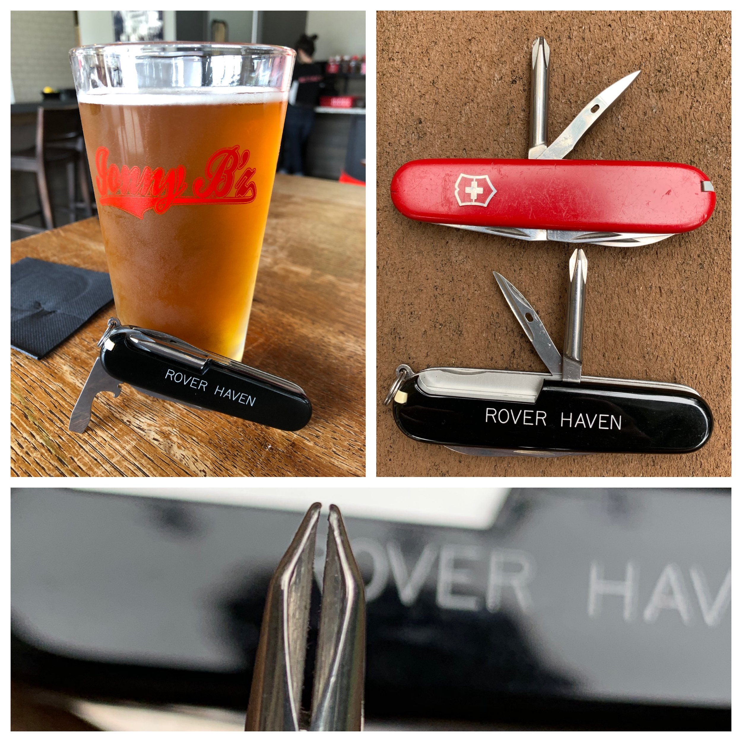 I filed off the keyring attachment point on my old high school Tinker decades ago. Note the can key feature on its Phillip's head screwdriver.