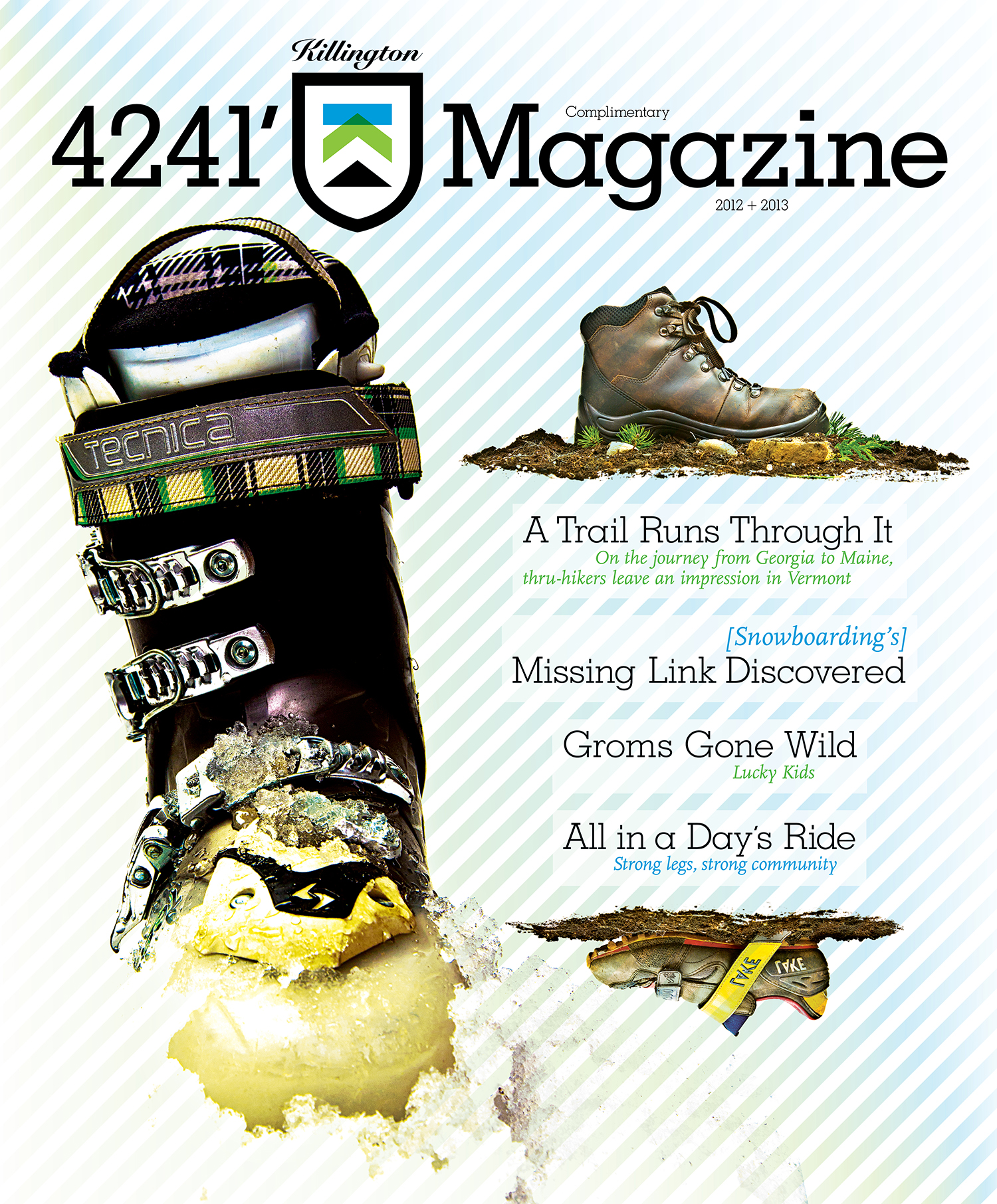 FEATURED WORK  KILLINGTON  4241' MAGAZINE , VOL 4