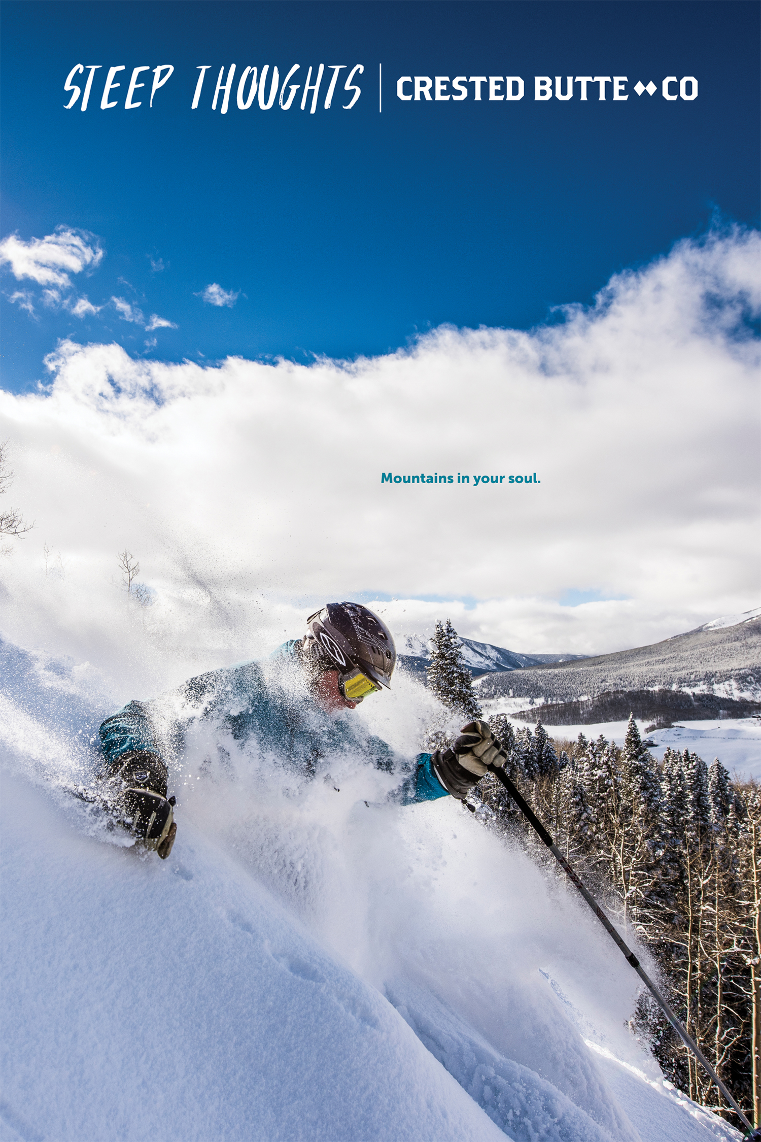 FEATURED WORK  GUNNISON-CRESTED BUTTE, COLORADO STEEP THOUGHTS 'ZINE