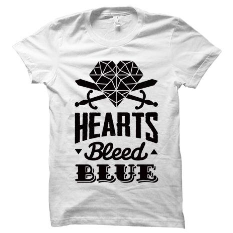 Hearts Bleed Blue              Brasão