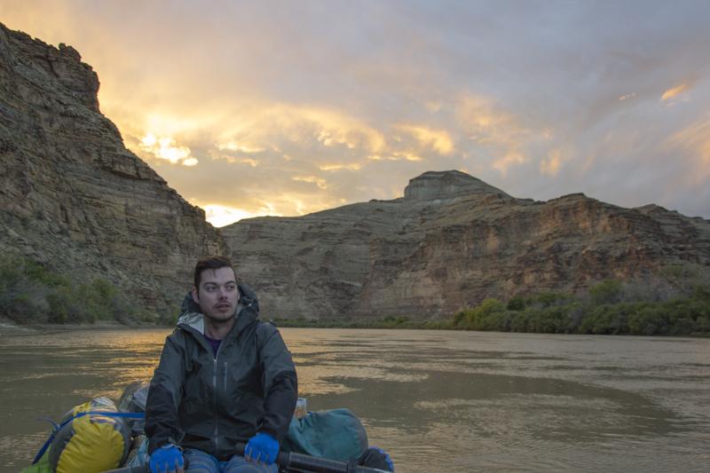 Rafting Desolation and Gray Canyons, Green River, Utah