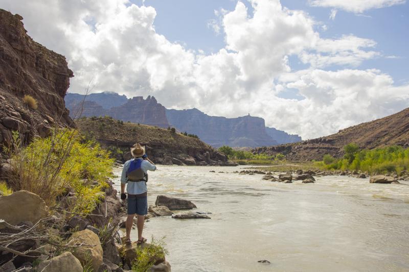 Rafting Desolation and Gray Canyon, Green River, Utah
