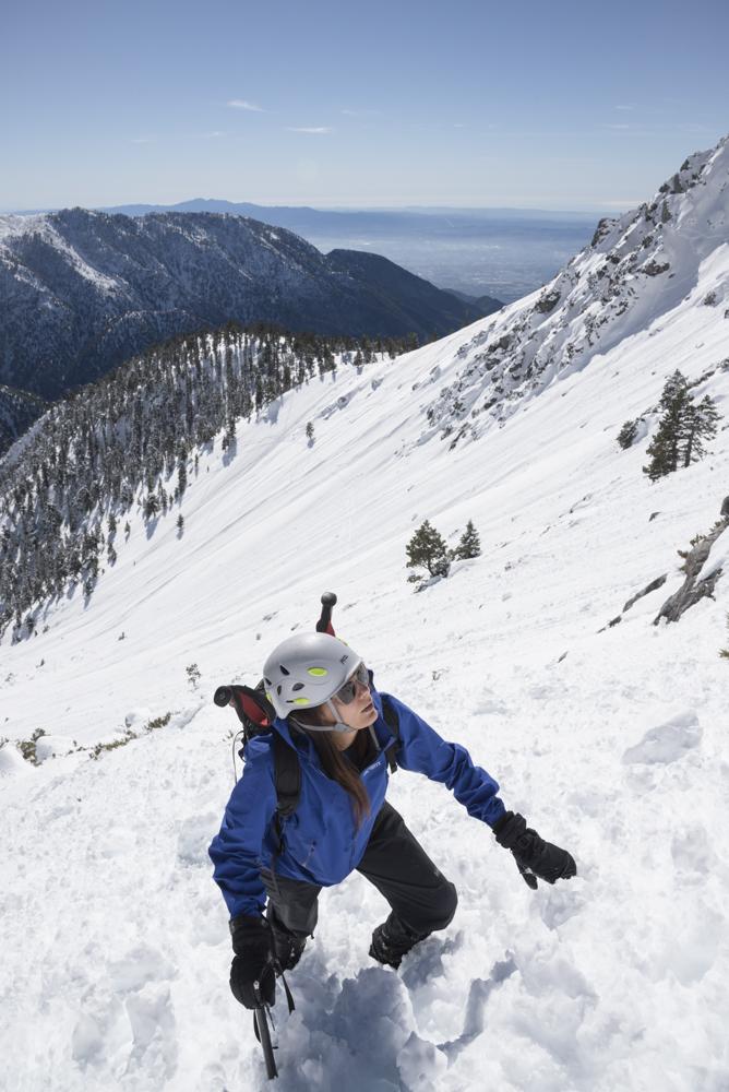 Mt Baldy Winter Ascent