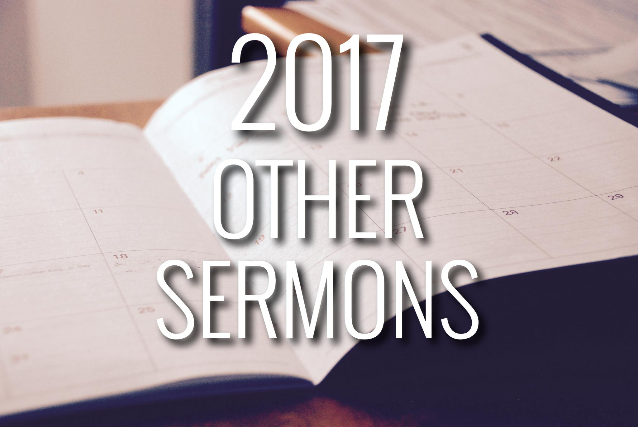 GLMC 2017 Other Sermons