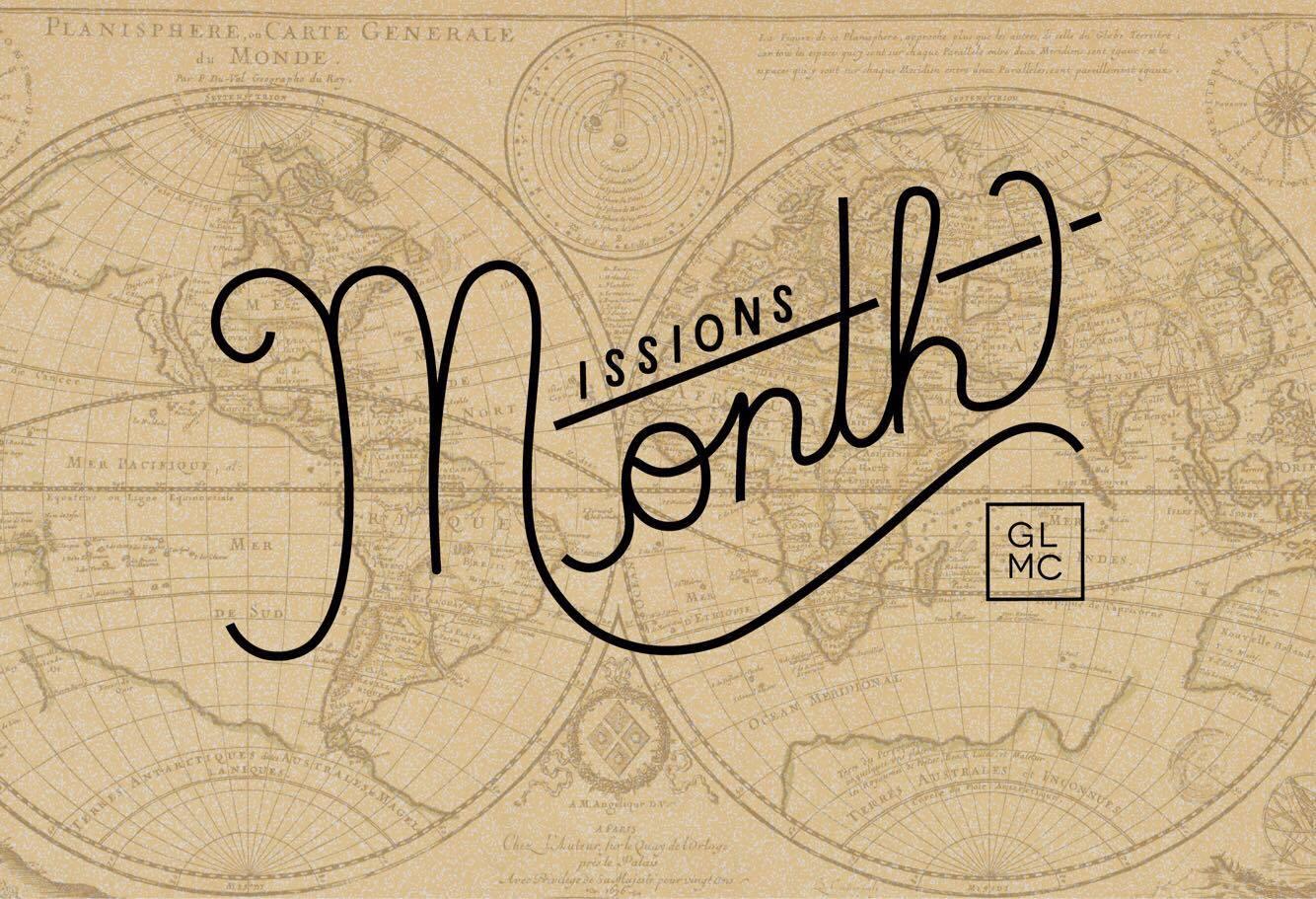 GLMC Missions Month 2017