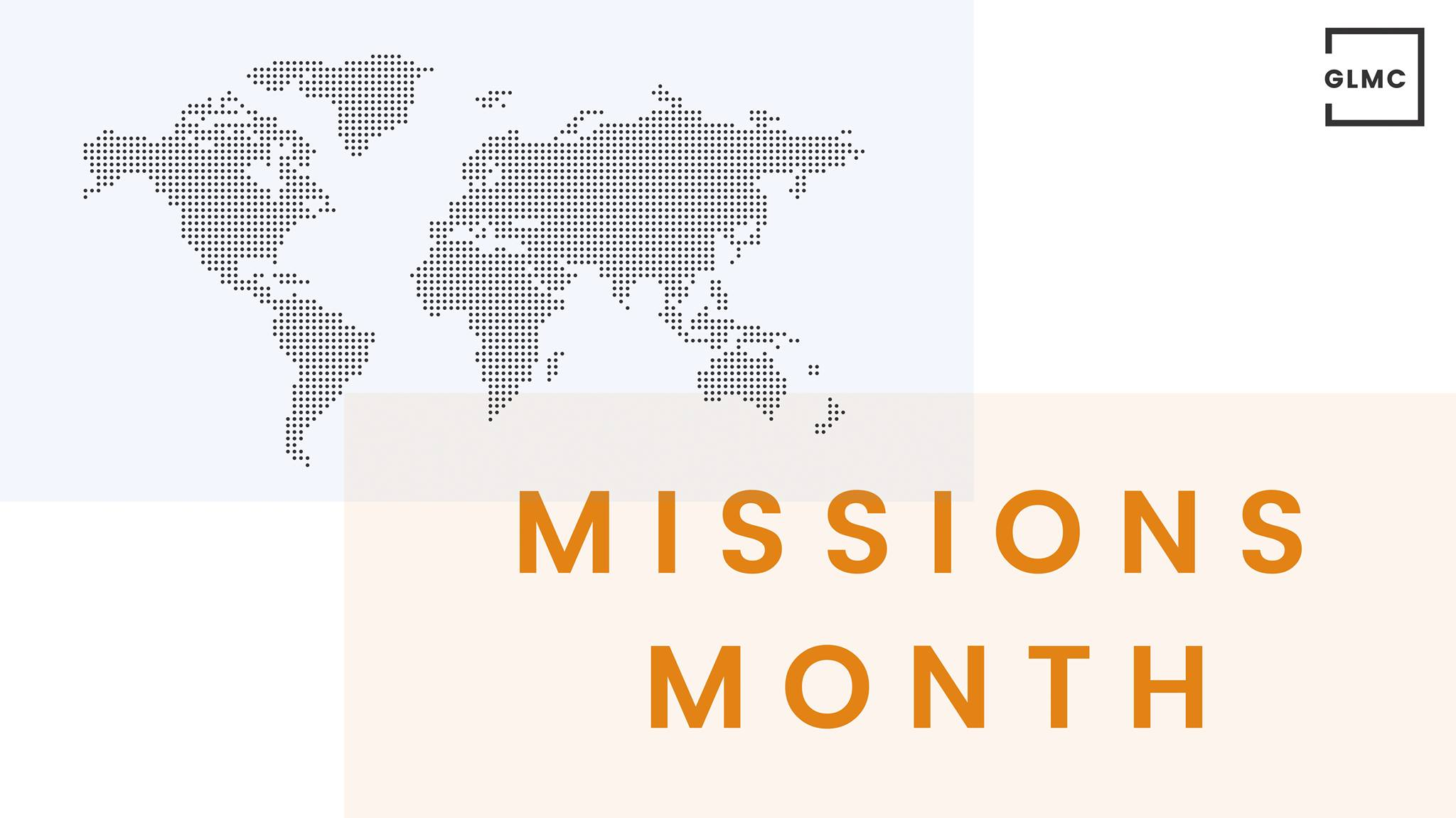 Missions Month 2018
