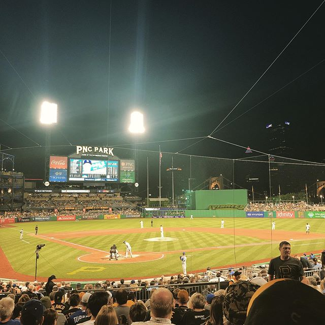 Three years later and I'm halfway done. PNC Park: stadium 15/30.